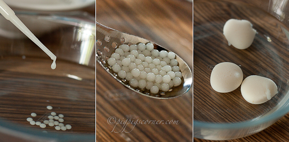 lychee spheres