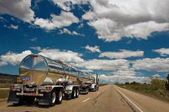 Masters of the road (Tati@) Tags: travel clouds truck utah highway cargo roads tanker tati tankertruck interstate15 usaontheroad annatatti mygearandme mygearandmepremium mygearandmebronze mygearandmesilver mygearandmegold mygearandmeplatinum mygearandmediamond