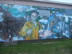 painter mural