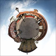 Kafka Museum Planet (wvs) Tags: trip travel panorama museum europe czech prague praha planet czechrepublic kafka ddoi littleplanet