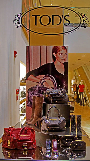 Tods Boutique window photo 251 by Candid Photos