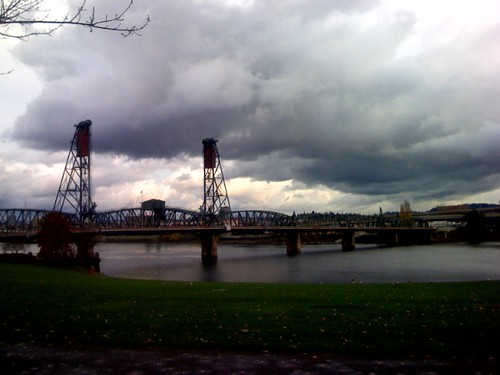 Walking near the Willamette