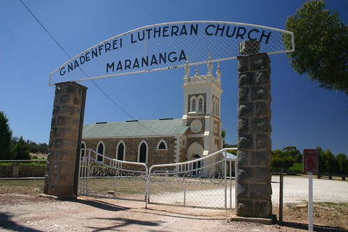 Gnadenfrei Lutheran Church, Marananga. Barossa.