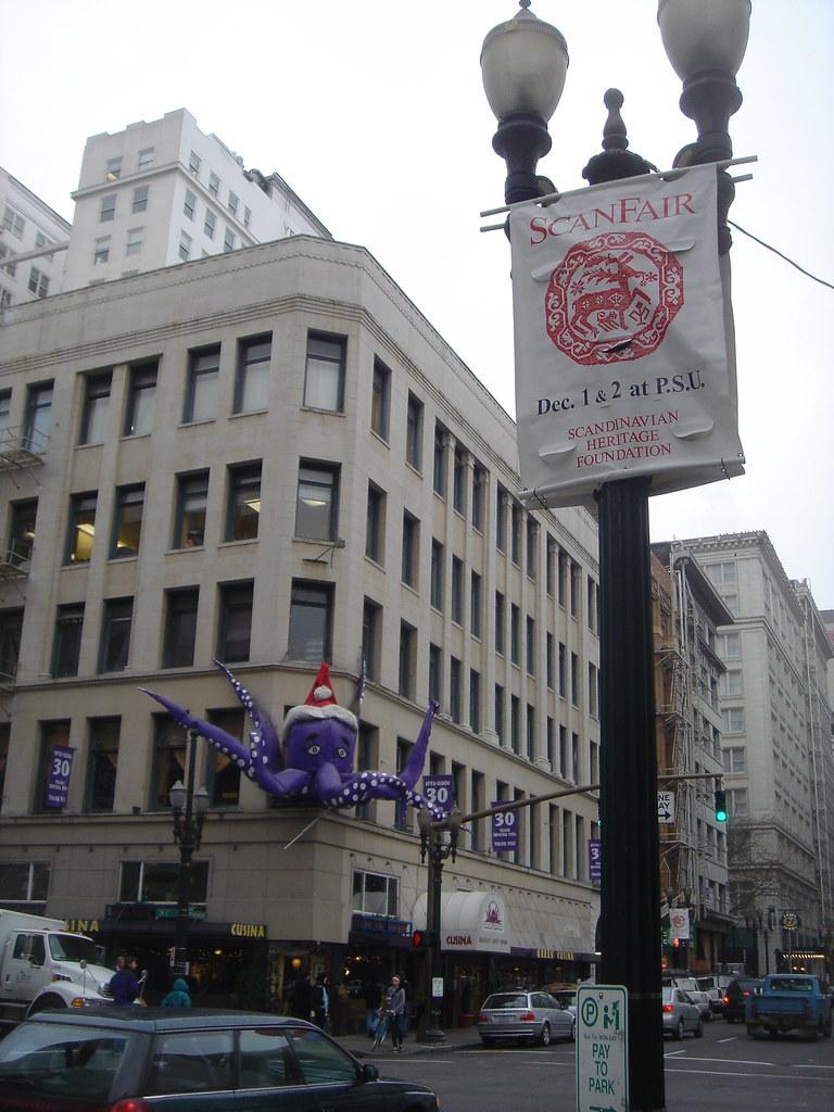 Christmas, Greek Cusina, 404 SW Washington St, Portland, OR, 97204
