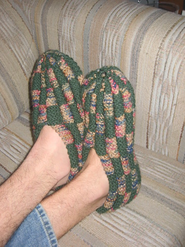 Welcome To The Knitosphere Checkerboard Slipper Tutorial
