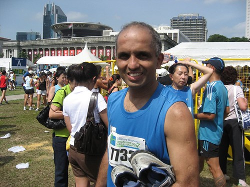 Your Truly.. All smiles after successfully completing 4th full marathon..