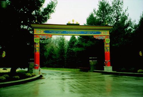 Tibetan Cultural Center gate