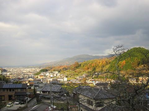 聖林寺-境内からの眺め