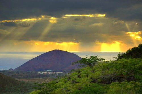 Ascension Island - view from Green Mountain