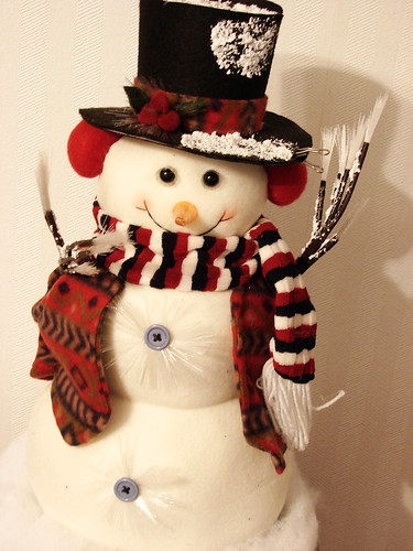 One happy snowman ... by ruthalice43.