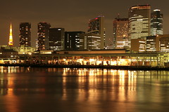 7200K (takotarou) Tags: japan night river tokyo tsukiji sumidagawa kachidokibashi passionphotography colourartaward