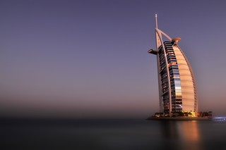Burj-al-Arab at Dawn