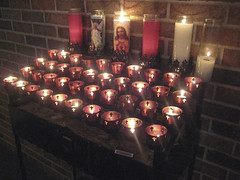 Candlelight (.imelda) Tags: church religious candles catholic candle texas heart religion jesus houston sacred catholicchurch candlelight imelda sacredheartofjesus manvel bettinger imeldabettinger assignmenthouston21