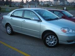 Crispy (Rrrrred) Tags: car crispy toyota usedcar corolla newcar 2003corolla