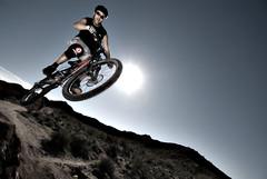 NRA Jumps (Poppa-D) Tags: arizona sunlight southwest darren big jump nikon d air mountainbike pad az stevenson mtb d200 mountainbiking vivitar freeride bigair poppa nra dirtjump overpower poppad strobist overpowersunlight