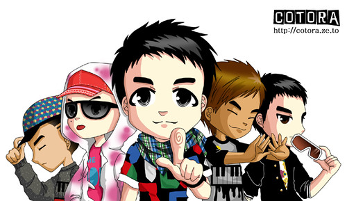 | Artist | BigBang ( G-Dragon , T.O.P , Seung Ri , Tae yang , Dae Sung ) 2214102378_7d87cf9456