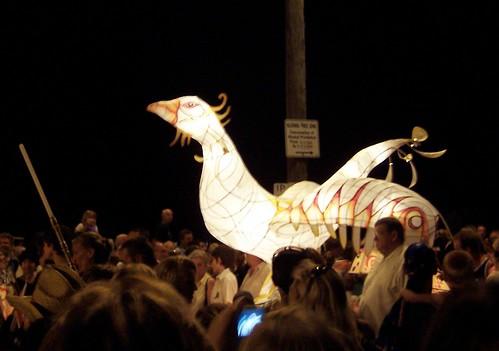 Phoenix lantern Australia Day 2008 Woy Woy