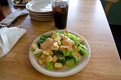 Plate #1 (jgarber) Tags: virginia salad gross manassas croutons goldencorral thousandislanddressing mirgluttonybowl