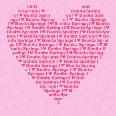 I love Bonita Springs