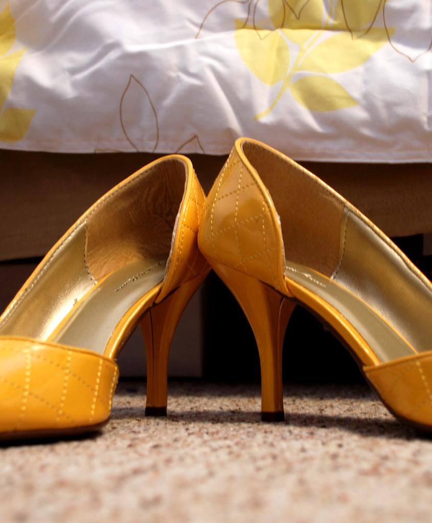 Quilted heel.