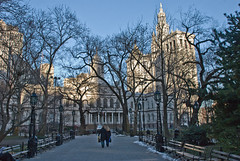 City Hall Park, Manhattan, New York, 14 Feb. 2008 by PhillipC, on Flickr