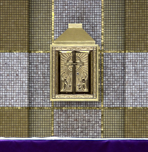 Saint Gerard Majella Roman Catholic Church, in Kirkwood, Missouri, USA - tabernacle