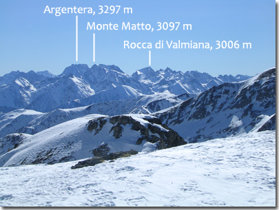 Panorama dalla Cima Fauniera