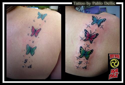 A tatuagem retoque de