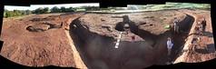 Killaltar Ringfort Souterrain and Barrows 07 (J-mak) Tags: panorama archaeology rath excavation ringfort ballygawley
