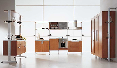 Sistematica – Contemporary Modular Kitchen Island from Oikos