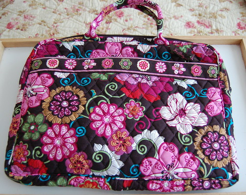 Vera Bradley Laptop Case - Mod Floral Pink