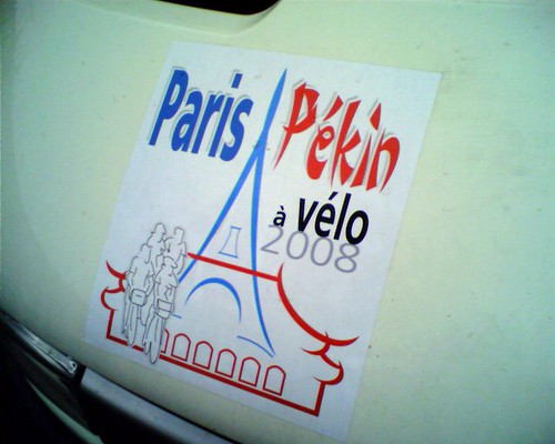 Paris-Pekin a Velo in Novi Sad, Serbia
