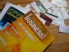 Tidningar och visitkort - Casino Affiliate Convention 2008