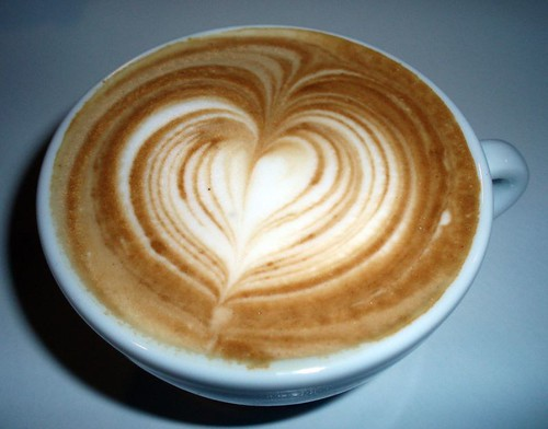 jack hanna's heart latte art