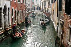 Venice traffic (Ramon2002) Tags: venice italy canal explore gondola 5photosaday ramon2002