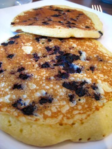 Wild Blueberry Pancakes @ Cedele.JPG