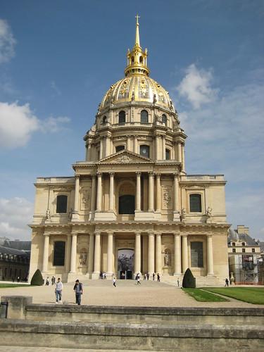 l'Eglise du Dome, l'Hotel des Invalides