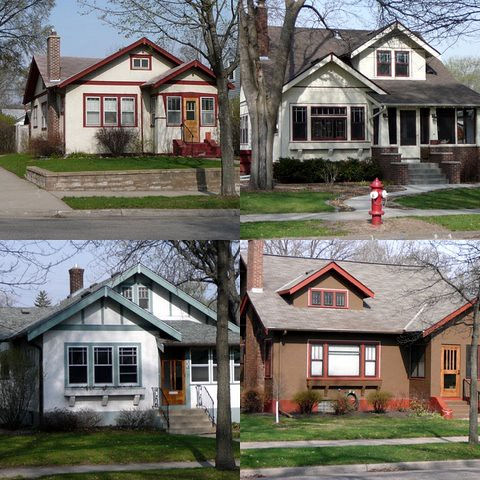 Minneapolis Bungalow Collage 1