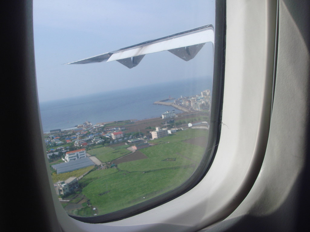 Landing in JeJu
