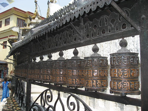 Prayer wheels with