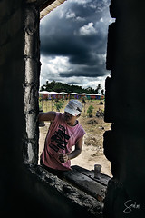 Building Dreams (Soul101) Tags: houses man building home window clouds construction community philippines poor cement dreams norte gk indigent gawadkalinga camarines ysplix soul101