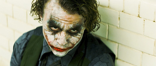 Heath Ledger delivers a healthy dose of psychosis to 'The Dark Knight'.