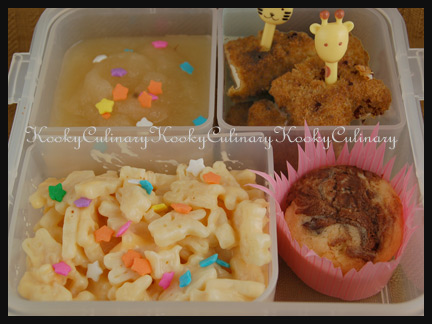Bento #33 - Mac & Cheese n more