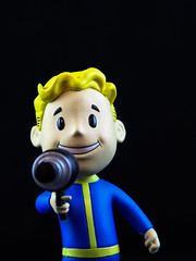 energy weapons (mevrain) Tags: happiness fallout energyweapons bobbleheads collectibles toys vaultboy