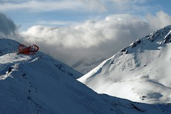 Viewpoint 2 (No_Mosquito) Tags: scenery landscape mountains snow winter clouds red alps gastein salzburg austria europe hohe tauern cold windy canon powershot g7x mark ii adiabatic compression foehn wind badgastein stubnerkogel outdoor