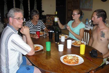 Dinner with Hanna