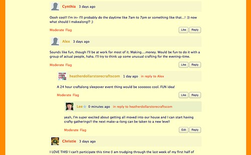 my blog comments