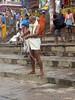Tying Langoti 1.7 Varanasi (amiableguyforyou) Tags: india men up river underwear varanasi bathing dhoti oldmen ganges banaras benaras suriya uttarpradesh ritualbath hindus panche bathingghats ritualbathing langoti dhotar langota
