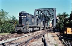 N&W SD-38 at Fort Wayne Ind Sept 1976 (Mark LLanuza) Tags: nw fort wayne sept 1976 ind