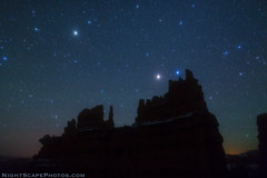 "Stars over The Fortress - Bryce Canyon (IronRodArt - Royce Bair (""Star Shooter"")) Tags: nightphotography night stars evening nightscape brycecanyon heavens universe starrynight brycecanyonnationalpark thefortress starrynightsky"